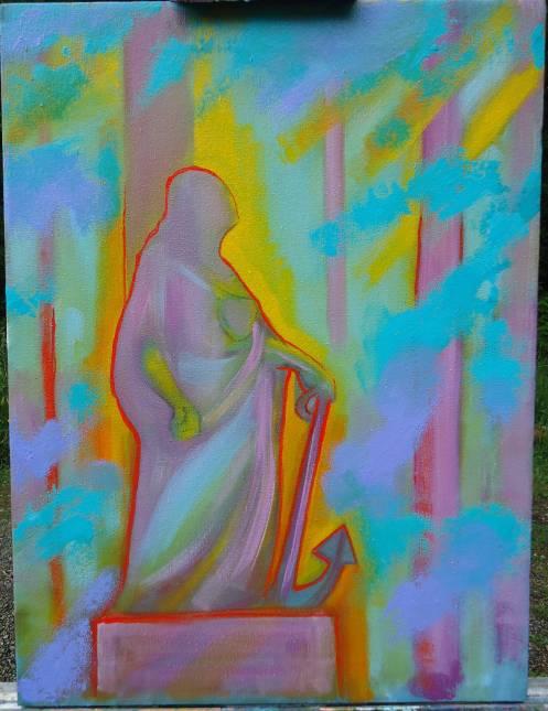 vickers painting may 23 2013